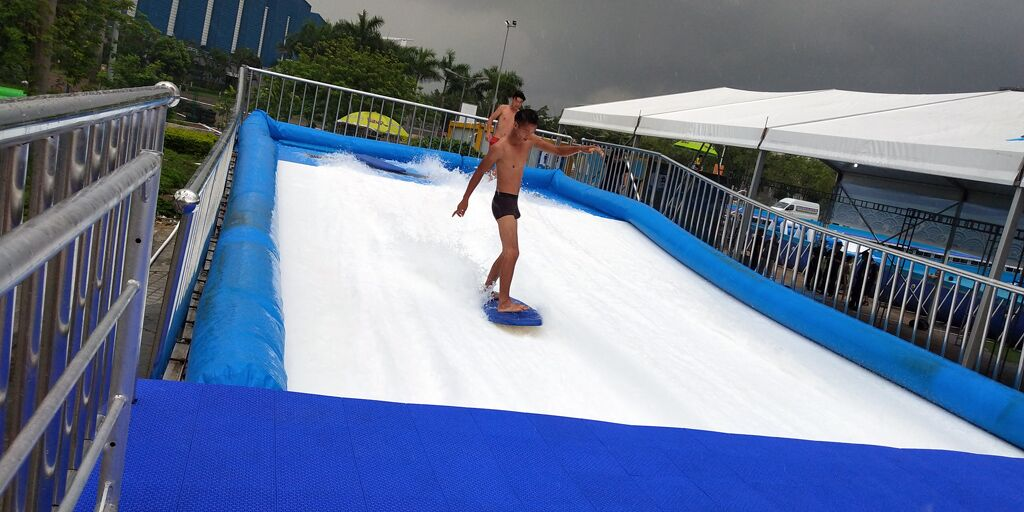 surfing pool water park wave machine