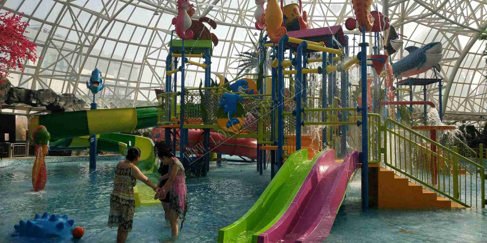 average aqua house for water parks