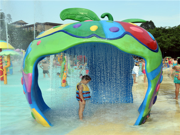 Aqua Park Apple House Water Spray Plays Suppliers