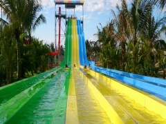 fiberglass racing water slides