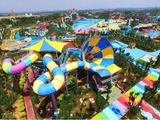Tornado water slide supplier