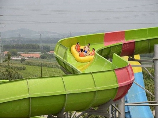 water park slide in China
