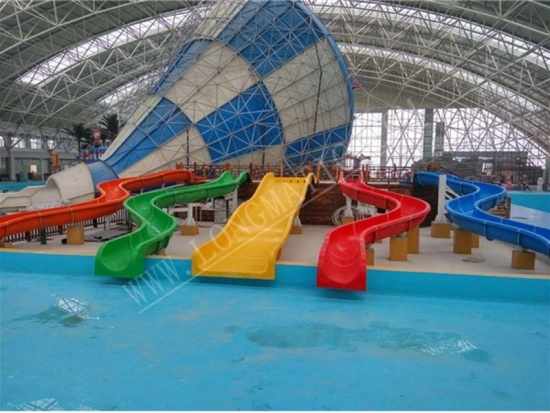 fiberglass water slides supplier