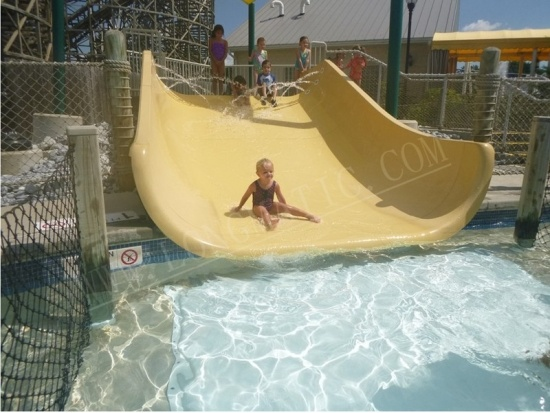 Kids wide water slide