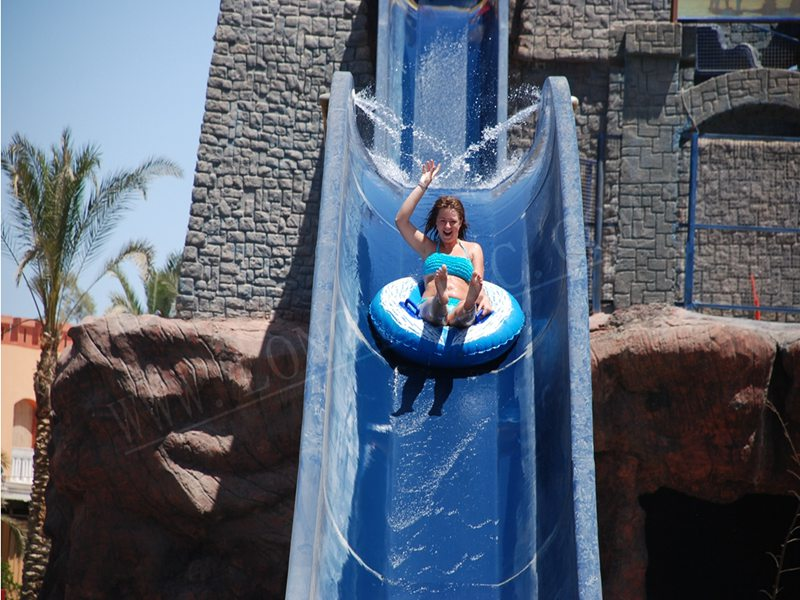High speed Kamikaze slide for adults