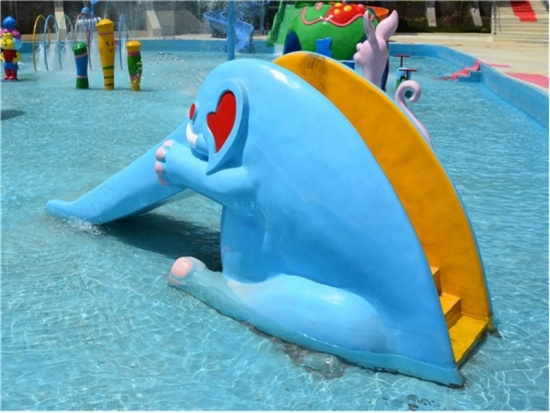 fiberglass water slide sections for sale