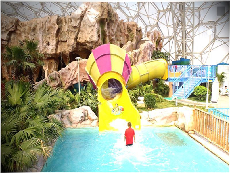 Commercial small tornado slide for aqua park