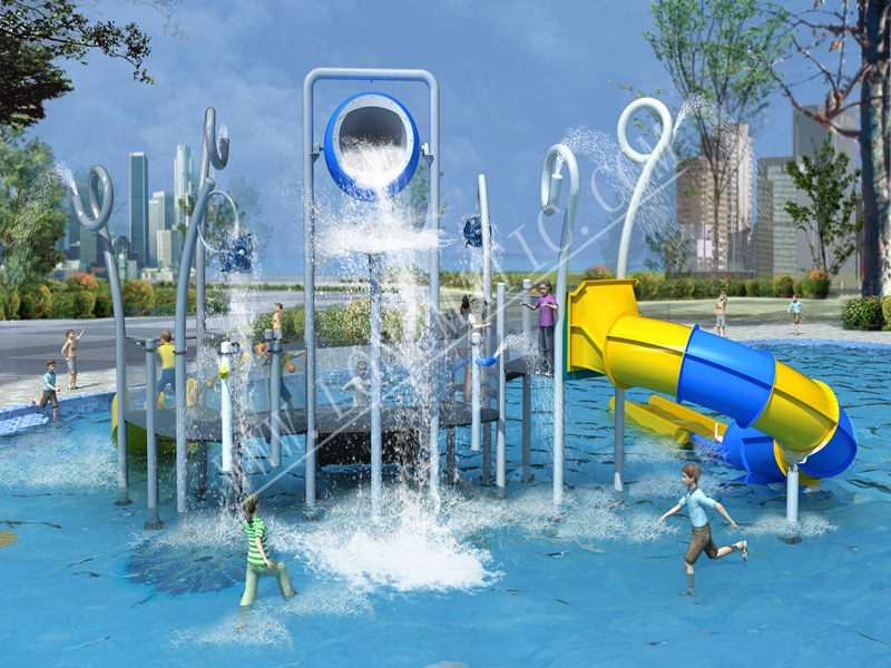 How to design children's playground in residential area?